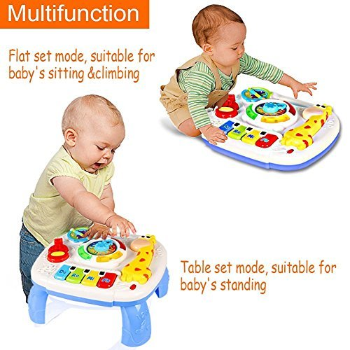 3 6 Month Musical Toys For Baby : Musical learning table baby toys to months up early