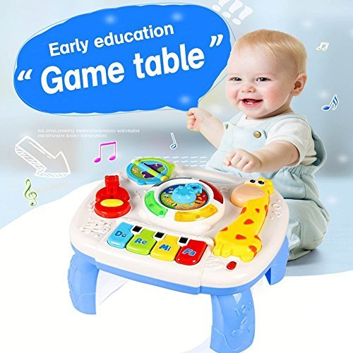 Toys For 6 : Musical learning table baby toys to months up early